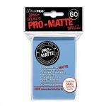 Protèges Cartes Format JAP  Sleeves Ultra-pro Mini Par 60 Bleu Mc Matte