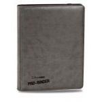 Portfolios  Premium Pro-binder - Simili Cuir Gris -  360 Cases (20 Pages De 18)