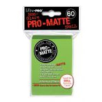Protèges Cartes Format JAP  Sleeves Ultra-pro Mini Par 60 Vert Clair Matte