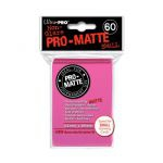 Protèges Cartes Format JAP  Sleeves Ultra-pro Mini Par 60 Rose Bonbon Matte