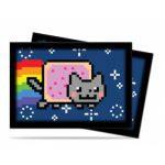 Protèges Cartes Format JAP Accessoires Sleeves Ultra-pro Mini Par 60 - Nyan Cat Original