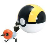 Figurine Pokémon Clip'n Carry Poké Ball  - Passerouge + Hyper Ball