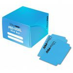 Deck Box  Pro-dual Deck Box - Bleu Clair (Light Blue) - 120 cartes