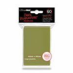 Protèges Cartes Format JAP Accessoires Sleeves Ultra-pro Mini Par 60 Metallic Gold