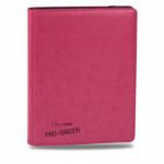 Portfolios  Premium Pro-binder - Simili Cuir Rose Bonbon -  360 Cases (20 Pages De 18)