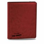 Portfolios  Premium Pro-binder - Simili Cuir Rouge -  360 Cases (20 Pages De 18)