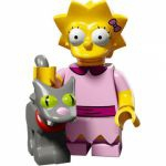 Minifigures The Simpsons 2.0 LEGO - 03 - Lisa Et Boule De Neige Ii