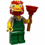 Minifigures The Simpsons 2.0 LEGO - 13 - Willie Le Jardinier