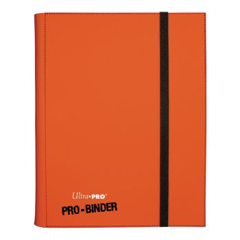 Portfolios Pro-binder - Orange -  360 Cases (20 Pages De 18)