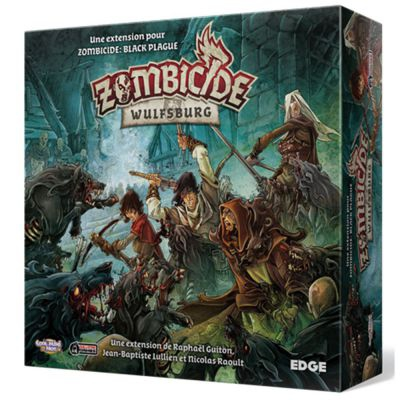 Coopératif Zombicide: Black Plague. Extension: Wulfsburg