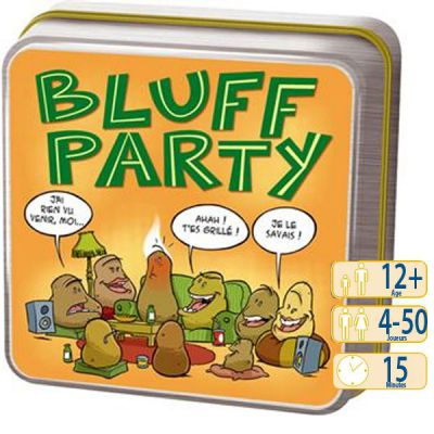 Bluff Bluff Party Orange