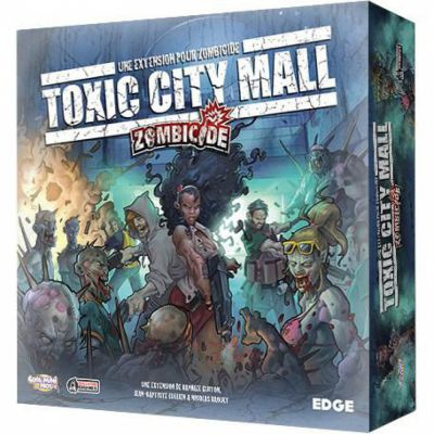 Coopératif Zombicide: Extention: Toxic City Mall
