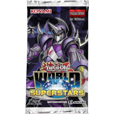 Boosters Anglais World Superstar