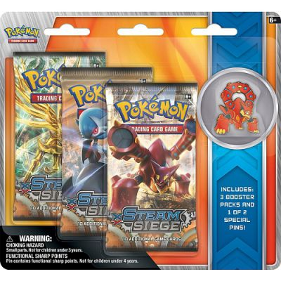 Boosters Français Edition Collector Pin's - Volcanion En Anglais