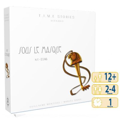 Enigme Time Stories - Sous Le Masque