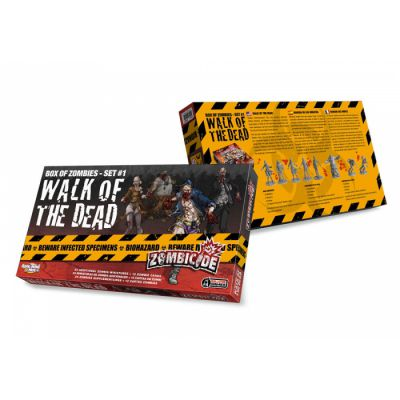 Coopératif Zombicide : Walk Of The Dead