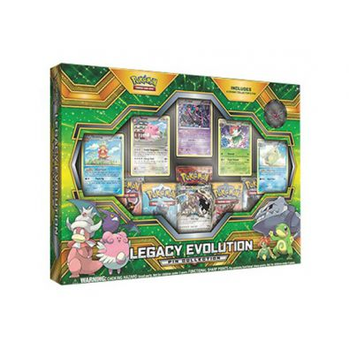Coffret Legacy Evolution Pin Collection En Anglais
