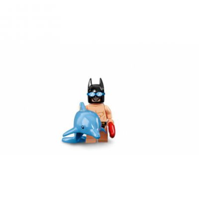 Minifigures The Batman Movie Séries 2 71020 N°06 Batman™ en maillot