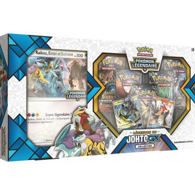 Coffret Légendes de Johto GX Collection : Entei GX et Raikou GX