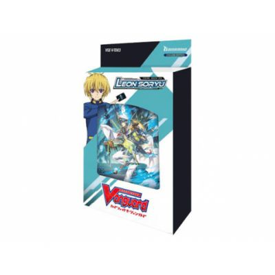 Decks VGE-V-TD03 - Trial Deck Vol. 03: Soryu Leon (clan Aqua Force)