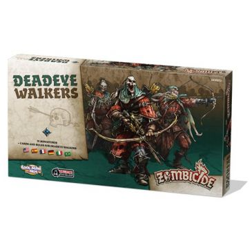 Coopératif Zombicide : Black Plague - Deadeye Walkers