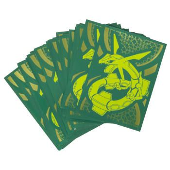 Protèges Cartes Sleeves Rayquaza Standard par 65