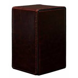 Boites de Rangement Alcove Tower Deck Box Cowhide