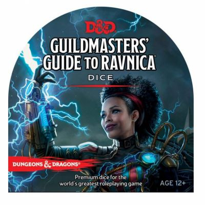 Aventure Dungeons & Dragons ® Cinquième édition - Guildmasters' Guide to Ravnica - Dice Set