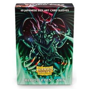 Protèges Cartes Format JAP Sleeves Dragon Shield Mini Blood Eyes Art par 60