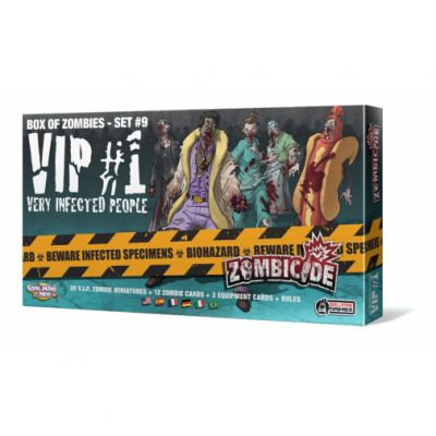Coopératif Zombicide : Very Infected People #1