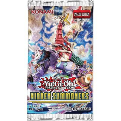 Boosters Anglais Yu-Gi-Oh! - Hidden Summoners (Les Invocateurs Cachés en Anglais)