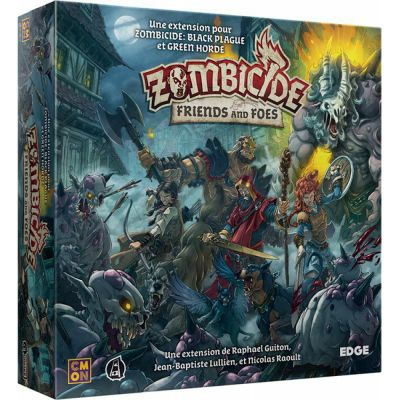 Coopératif Zombicide : Friends and Foes