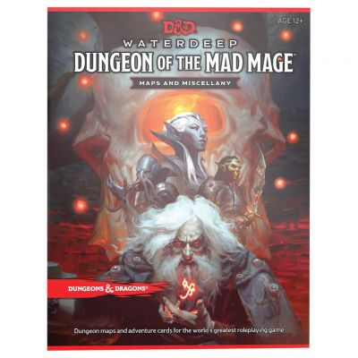 Jeu de Rôle D&D5 Waterdeep : Dungeon of the Mad Mage - Maps and adventure cards