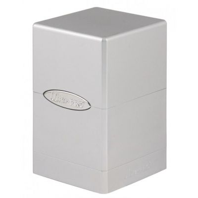 Boites de Rangement Satin Tower Deck Box Métallique Silver