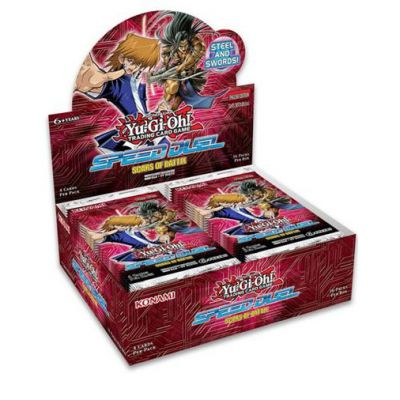 Speed Duel Boite De 36 Boosters - Speed Duel : Cicatrices de Bataille