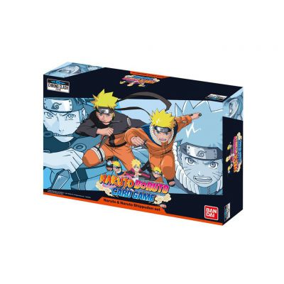 Packs Spéciaux Naruto Boruto : Card Game - Naruto & Naruto Shippuden Set