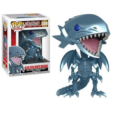 Jouets & Figurines Figurine Funko POP! Animation Vinyl Blue Eyes White Dragon (Dragon Blanc aux Yeux Bleus) 9 cm