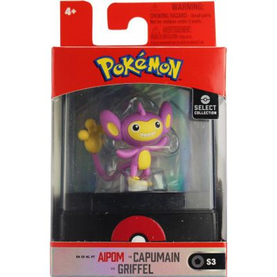 Figurine Pokémon Select Mini Figure - Capumain