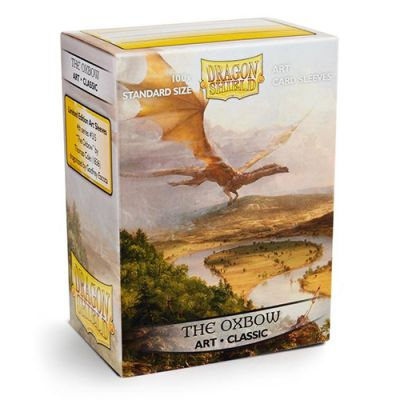 Protèges Cartes Sleeves Dragon Shield Standard The Oxbow - par 100