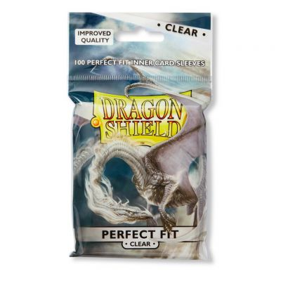 Protèges Cartes Sleeves Dragon Shield Standard Perfect Fit - par 100