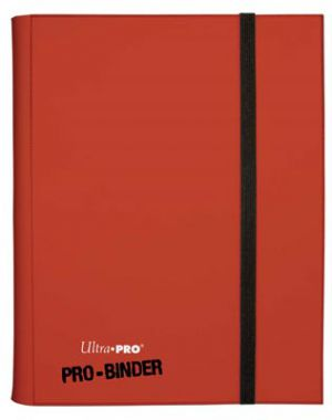 Portfolios Pro-binder - Rouge -  360 Cases (20 Pages De 18)