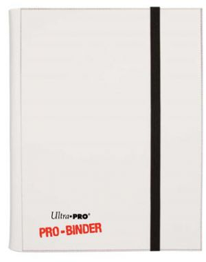 Portfolios Pro-binder - Blanc - 160 Cases (20 Pages De 8 Cases)