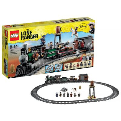 playfactory lone ranger 79111 course poursuite dans le train lego. Black Bedroom Furniture Sets. Home Design Ideas